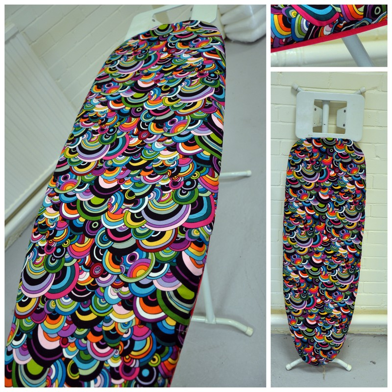 ironing board re cover tutorial plush addict. Black Bedroom Furniture Sets. Home Design Ideas