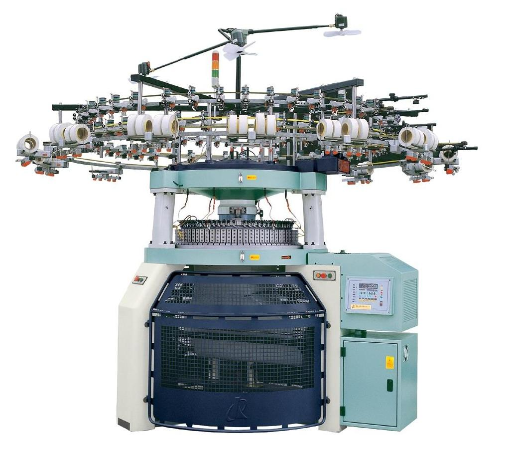 Double_jersey_Rib_knitting_machine