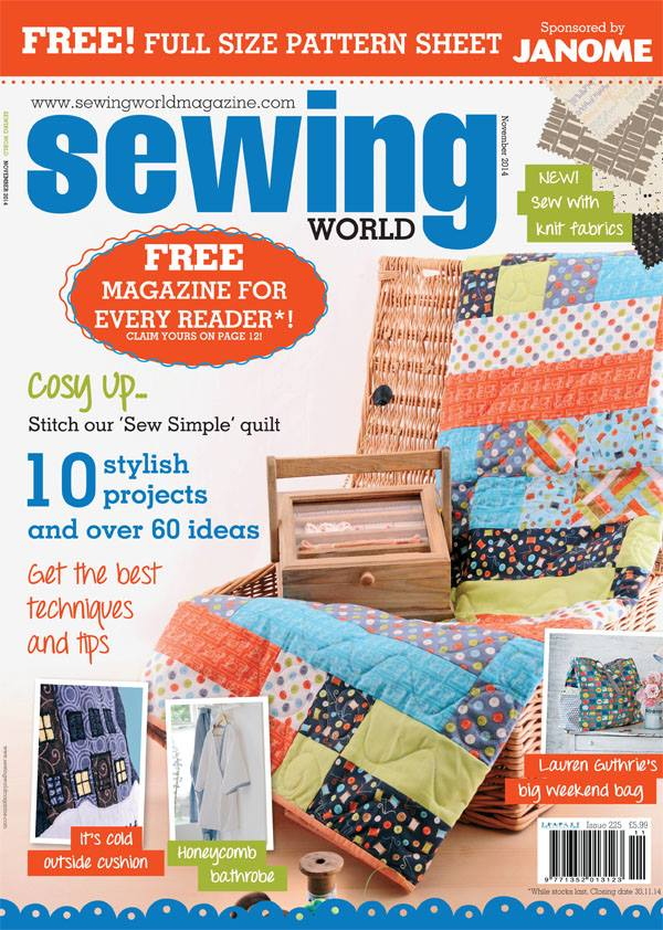 My Guide To Waterproof Fabrics in Sewing World Magazine