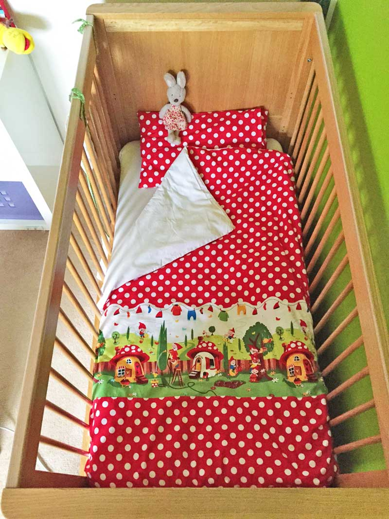 A Toddler Duvet Cover