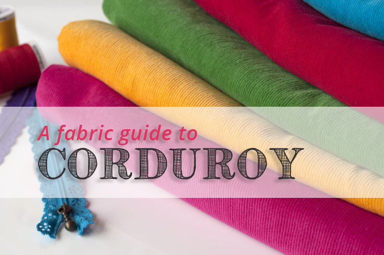 A Fabric Guide To Corduroy: What's In A Wale?