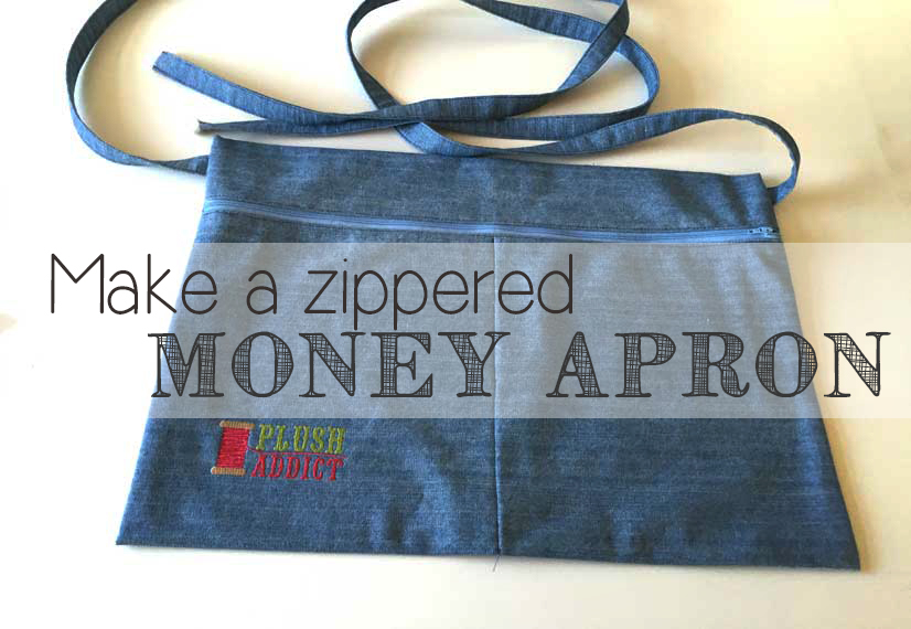 How To Make A Zippered Money Apron