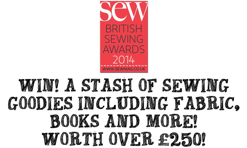 Have You Voted? Last Chance! Win £250 Of Sewing Loot!