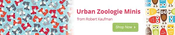 Urban Zoologie Minis Now InStock