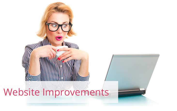 Website Improvements For Your Pleasure!