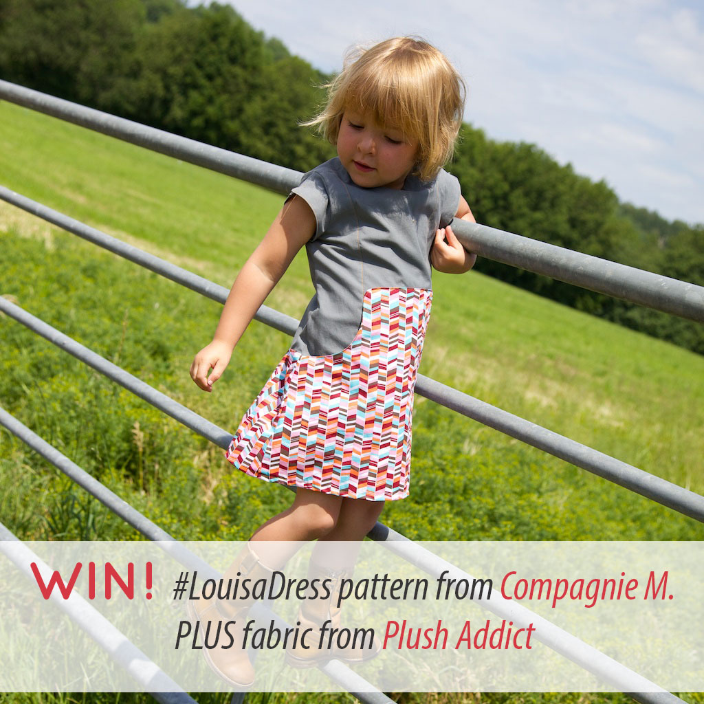 Giveaway: Win Compagnie M. Louisa Dress Pattern Plus Fabric!