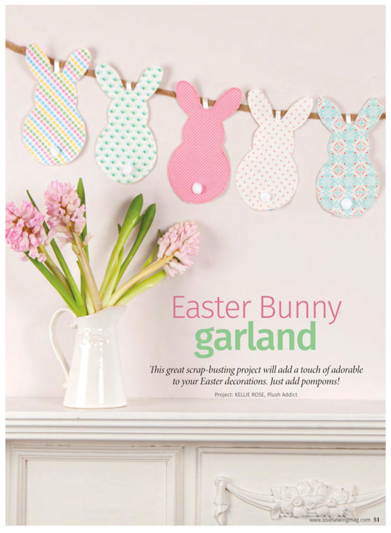 10 Bunnies With Pom Pom Bob Tails Easter Decoration Easter Bunny Bunting