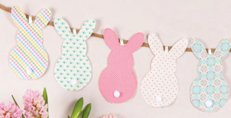 Easter Bunny Garland Tutorial