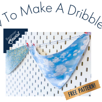 How To: Make A Dribble Bib -  Free Pattern And Tutorial