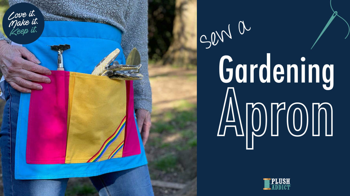 Canvas Gardening Apron Tutorial