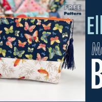 Sew A Make Up Bag: Free Pattern and Tutorial To Make A Large Make Up Bag