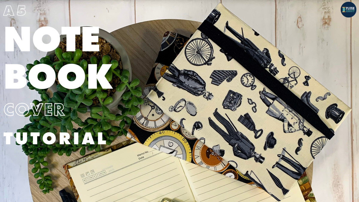 Tutorial: Sew An A5 Notebook Cover In 30Minutes