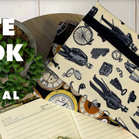 Tutorial: Sew An A5 Notebook Cover In 30 Minutes