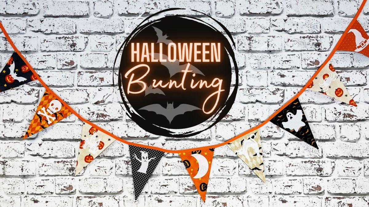 Tutorial: Halloween Bunting!