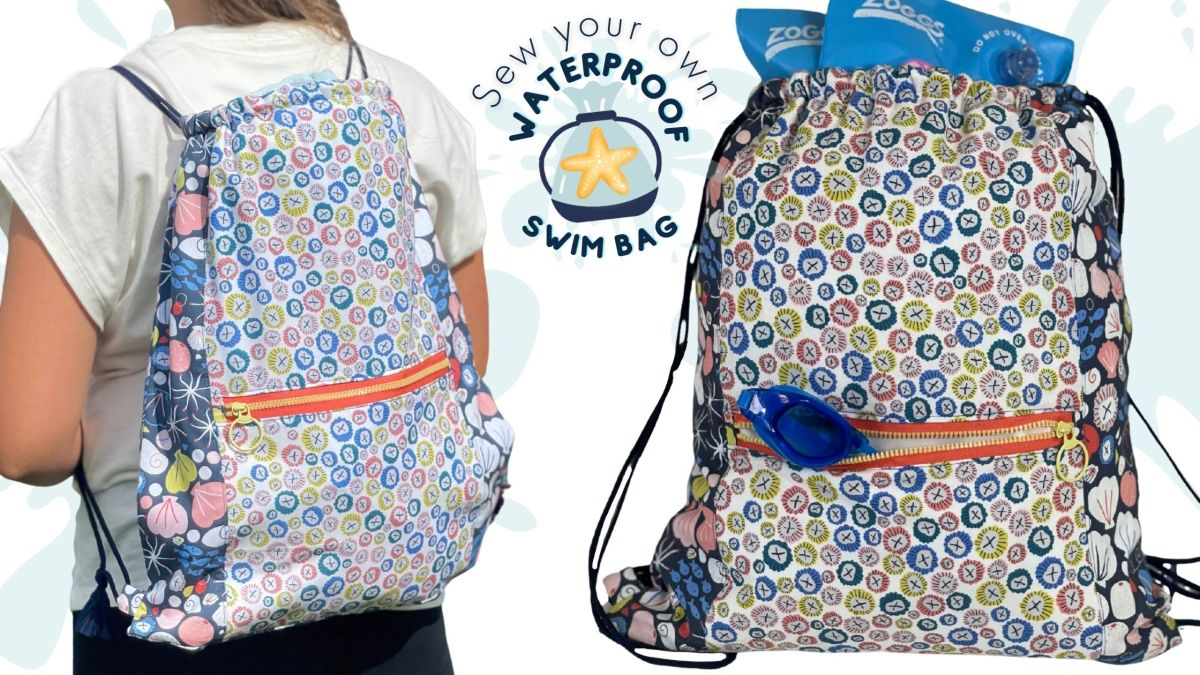 Make a Splash with this NEW Swim Bagproject!